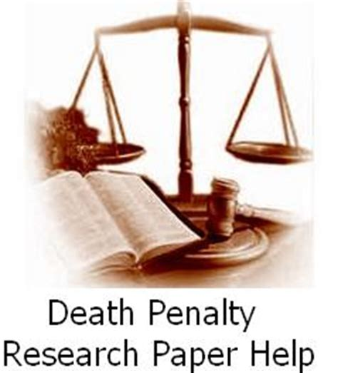 Thesis for being against the death penalty